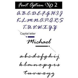 Font option 2